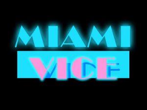80s TV Influences - Miami Vice